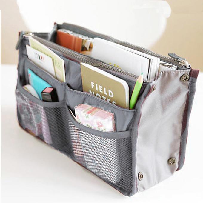 Органайзер для сумки серый в наличии