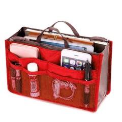 Органайзер для сумки красный в наличии