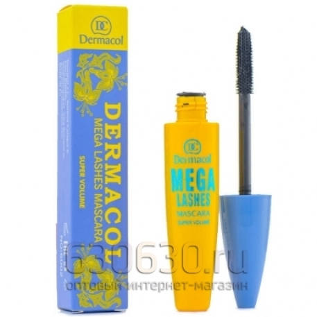 "Тушь для ресниц Dermacol ""Mega Lashes Mascara Blue\"""