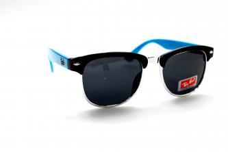 подростковые солнце ray ban 001 черный голубой