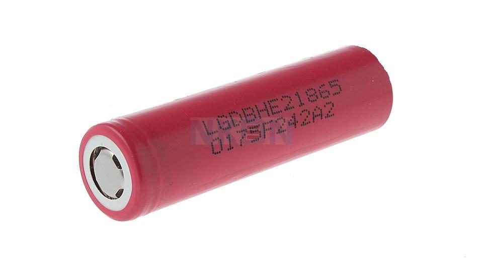 LG ICR18650-HE2 2500mAh - 20A