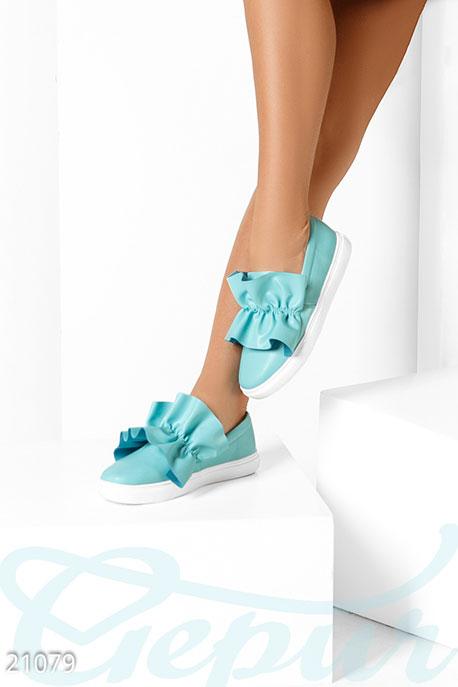 Shoes Женские слипоны рюши