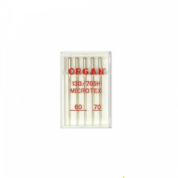 Иглы ORGAN микротекс №60-70 для БШМ упак.5 игл