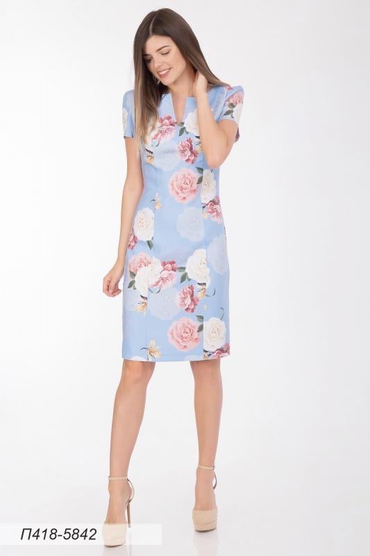 Платье 418