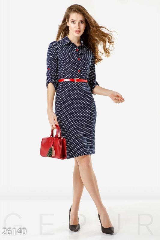 Get suited Платье в горошек
