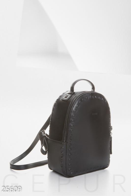 Rock it Компактный кожаный рюкзак