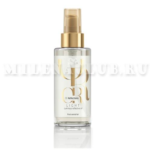 Wella Oil Reflections Легкое масло для придания блеска волосам 30 мл