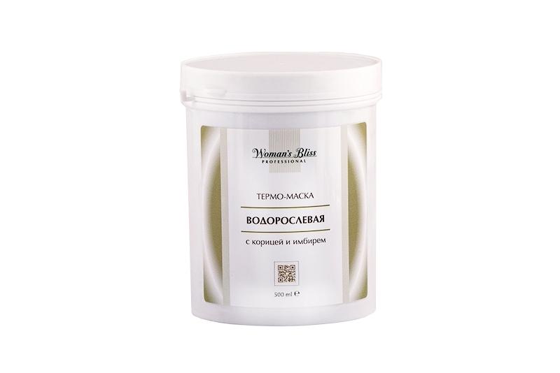 Термо-маска водорослевая с корицей и имбирем