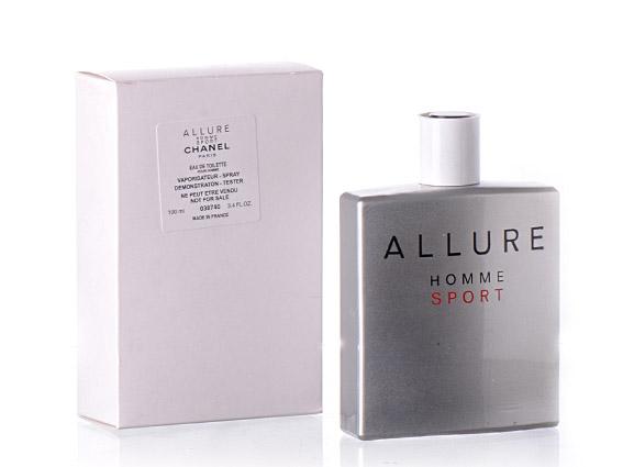"ТЕСТЕР Chanel \"" Allure Homme Sport\"" 100 ml"