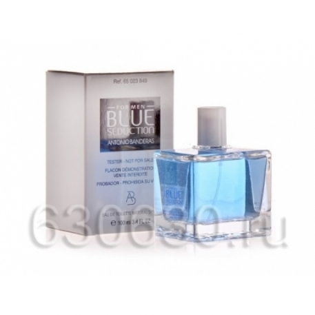 "ТЕСТЕР Antonio Banderas ""Blue Seduction for Men\"" 100 ml"