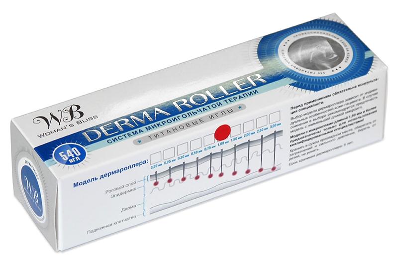 дермароллер (мезороллер) с титановыми иглами