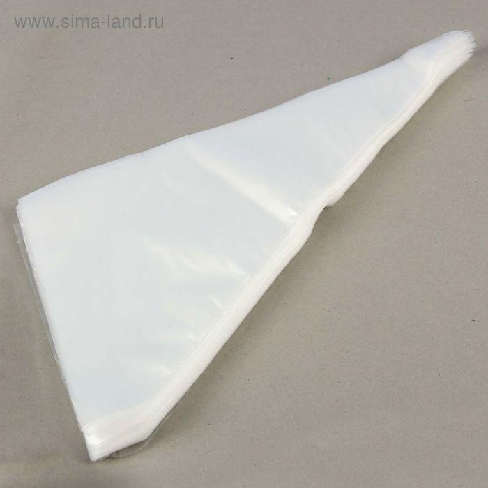 Набор одноразовых кондитерских мешков 37х25 см, 100 шт