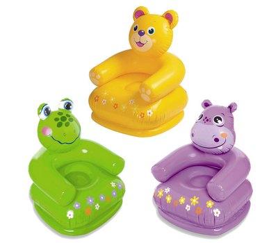 Надувное детское кресло Intex 68556 65х64х74