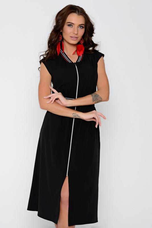"""Платье """"Мальта"""" (черное)"""