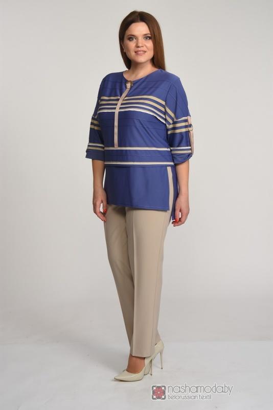 Комплект Карина де Люкс 277 брюки синие
