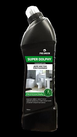 Усиленный гель для чистки сантехники Super Dolphy