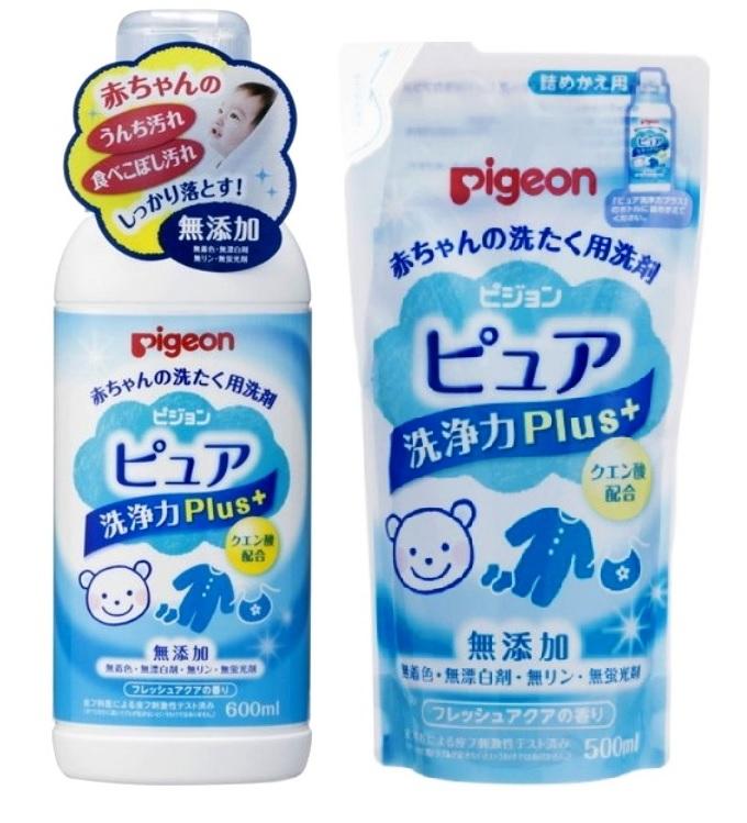 121354 PIGEON Жидкое средство для стирки детского белья, запасной блок, 500 мл