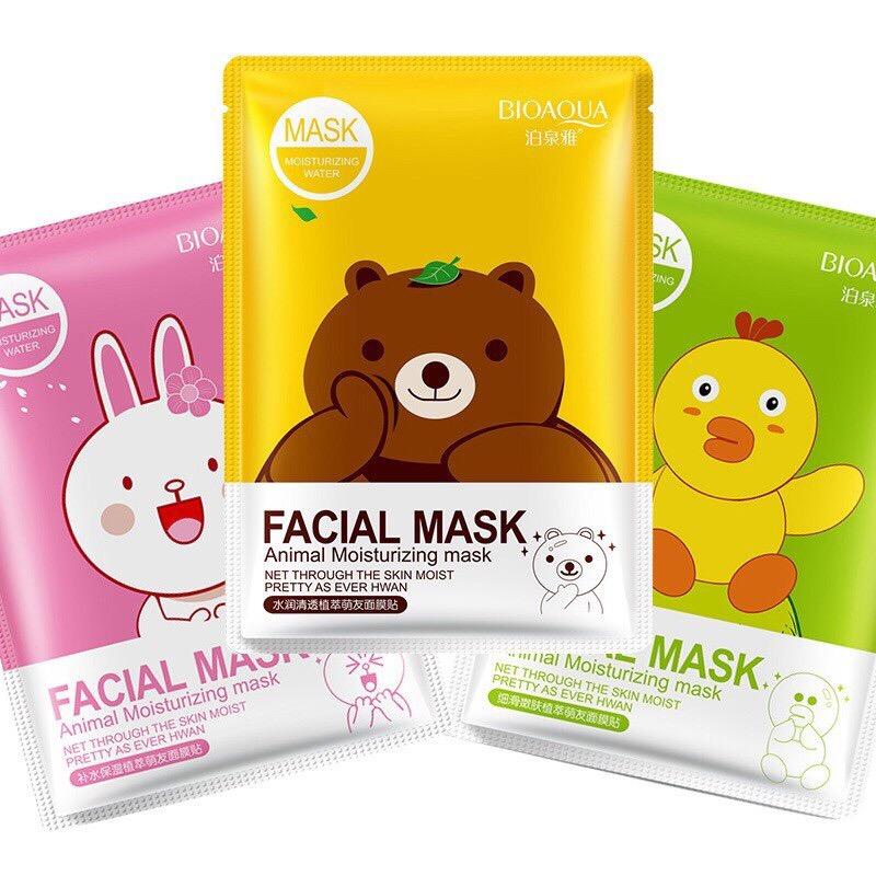 Маска Facial mask Animal