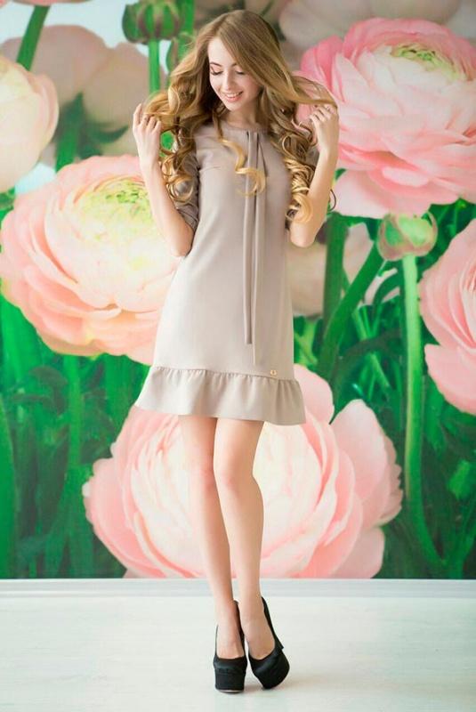 Lux Look: Платье Рюша 130
