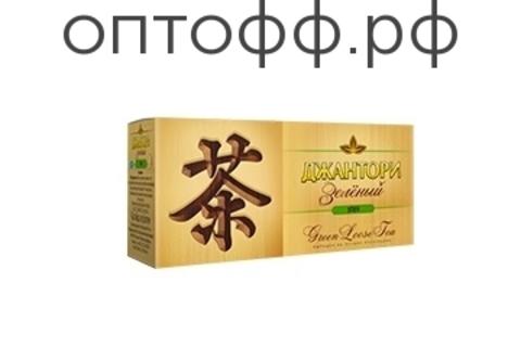 Чай Джантори Зеленый пак. 25