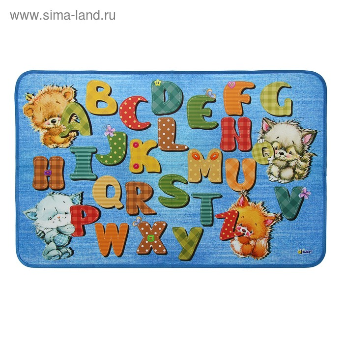 """Накладка на стол дизайн 700*450 КН-2-20-1 \""""Алфавит ENG\"""" 56221"""