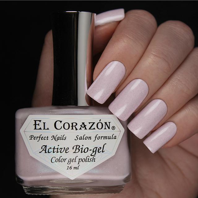 """EL Corazon® Active Bio-gel Color gel polish """"Pearl"""" №423/1001"""