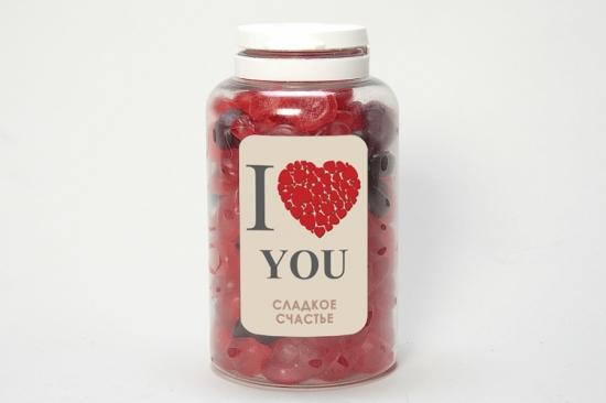 I love you (сердечки мини)