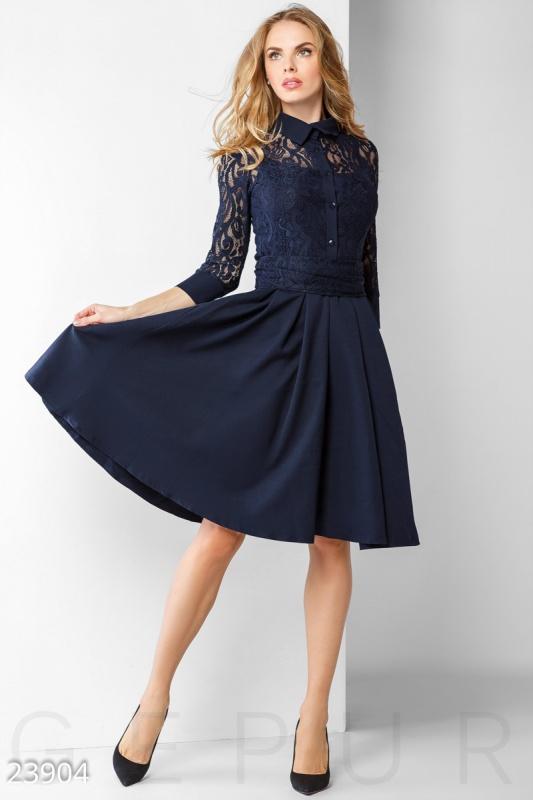 Rhythm Строгое однотонное платье