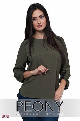 Блуза Лего 260615 от Peony, цвет хаки
