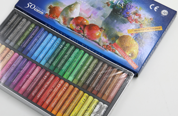 Пастель масляная MUNGYO Gallery Artists Oil Pastel (48 цветов, 50 мелков)