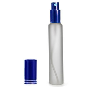 Трубка матовая 35мл (спрей люкс синий)
