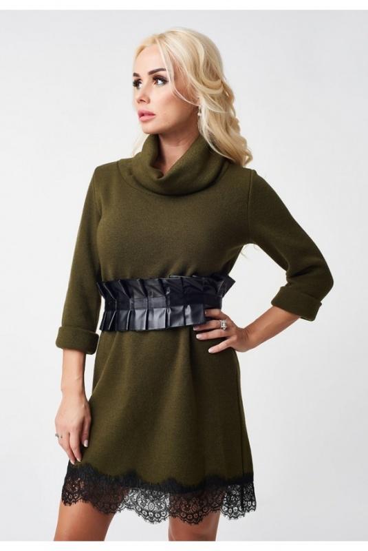 Lux Look: Платье с кружевом 794