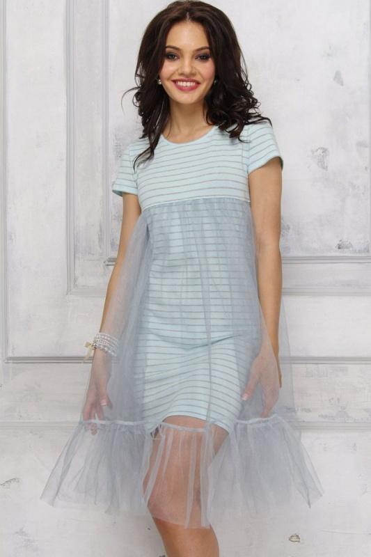 Оригинальное двойное платье