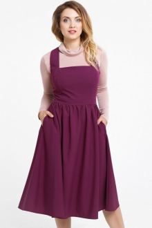 Стильное платье-сарафан