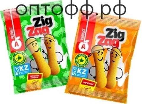 АП Zig Zag печенье сладкое 50гр (кор*66)