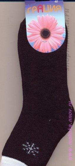 Носки женские х\\б Грация(носки) Носки М1011