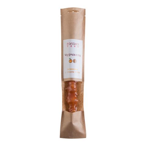 Чурчхела абрикосовая с грецким орехом, 1 шт. (80 г +/- 5 г)