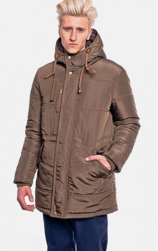 Куртка зимняя MR 102 1068 0815 Khaki от MR520, цвет зелёный