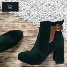 Ботинки на устойчивом каблуке  Арт. 805-1Ок