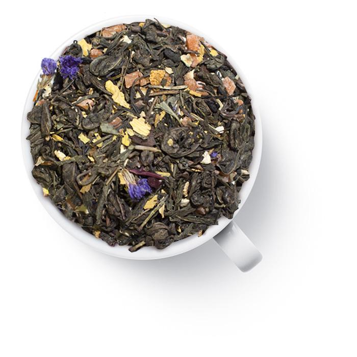 """35032 Чай Gutenberg зеленый ароматизированный """"Сок жизни"""""""