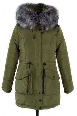 05-0682 Куртка зимняя (Синтепон 400) Плащевка Оливковый