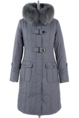 05-0863 Куртка зимняя Плащевка Серый