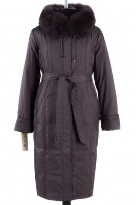 05-0918 Куртка зимняя (пояс) Плащевка Капучино