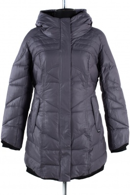 5-1045 Куртка зимняя Плащевка Серый