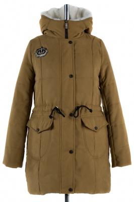 05-1135 Куртка зимняя Scandinavia (Синтепон 300) Плащевка Табак