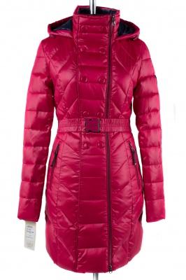 05-1268 Куртка зимняя (пояс) Плащевка Малина