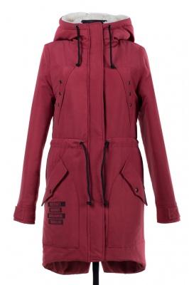 05-1443 Куртка зимняя (Синтепон 300) Плащевка Сухая малина