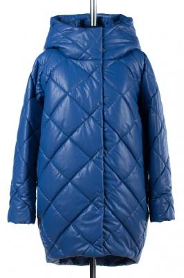 05-1516 Куртка зимняя (Синтепон 300) Эко-кожа Синий