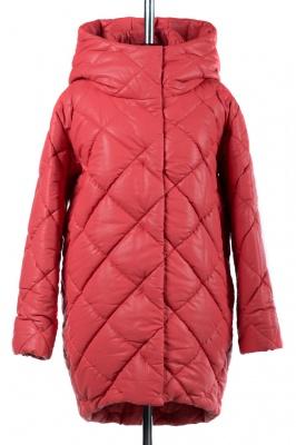 05-1515 Куртка зимняя (Синтепон 300) Эко-кожа Коралл