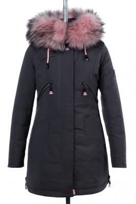 05-1537 Куртка зимняя (Синтепон 300) Плащевка Серый